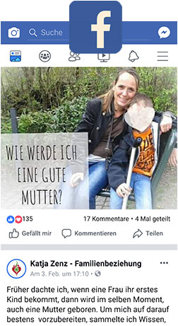 Katja Zenz Familien Beziehung Facebook
